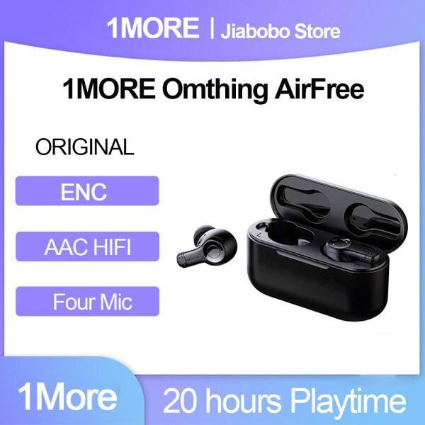 1MORE Omthing AirFree Tws Wireless Bluetooth Headphones 4 Mic ENC Earbuds 7mm Dynamic 550mAh Google Assist&Siri Gaming Headset Singapore