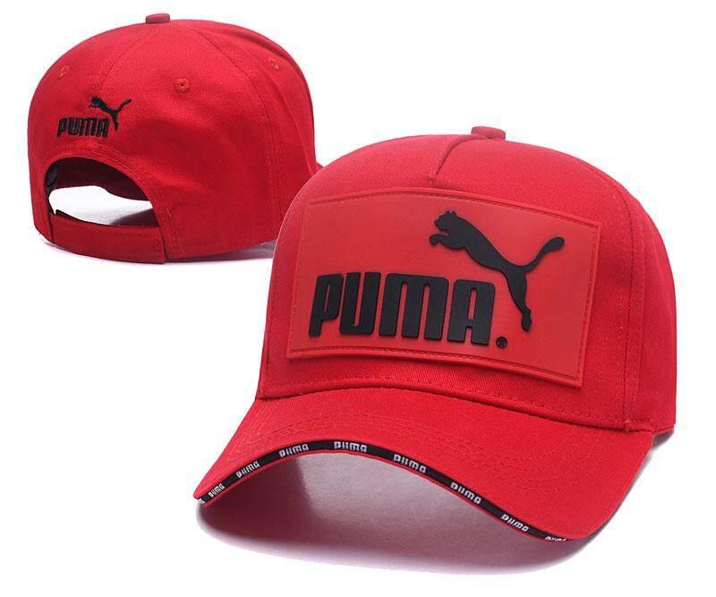 PUM solid color new hot ladies mesh hat fashion baseball cap men's breathable cap summer sun hat