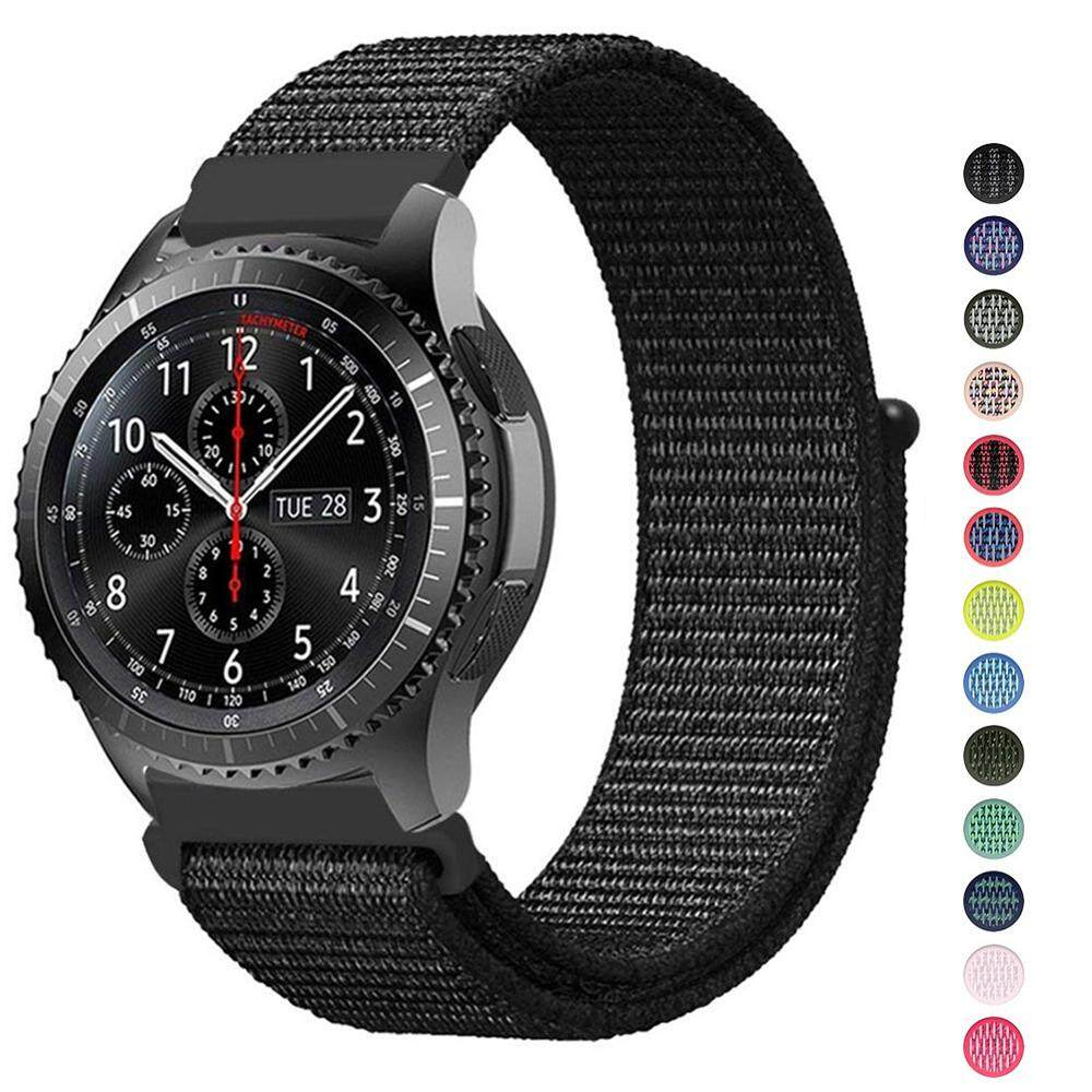 22mm 20mm Universal Nylon Watch Strap For Samsung Gear S3 S2 Classic Sport Replacement Watch Bands with Adjustable Closure Malaysia
