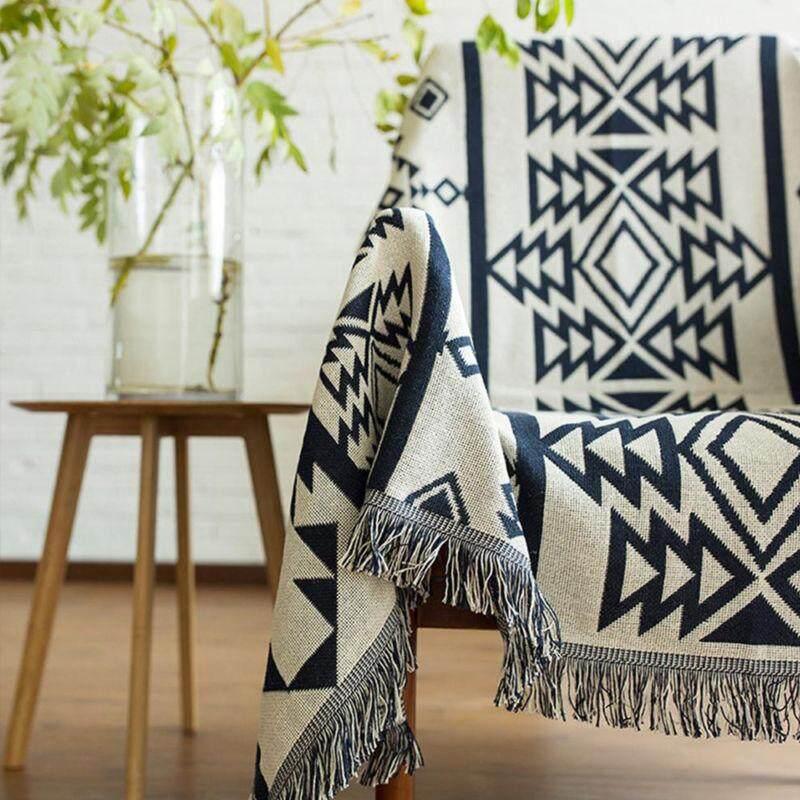 New Cotton Sofa Blanket Throw Rug Chair Thread Blanket Home Decor Bath By Streamflowing.