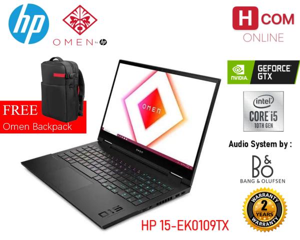 HP OMEN Laptop 15-ek0109TX (Intel Core i5, 8gb ram, 512gb ssd, Nvidia GTX1650 Ti 4gb, 15.6 inch FHD 144hz, win10, 2yr with adp) Malaysia