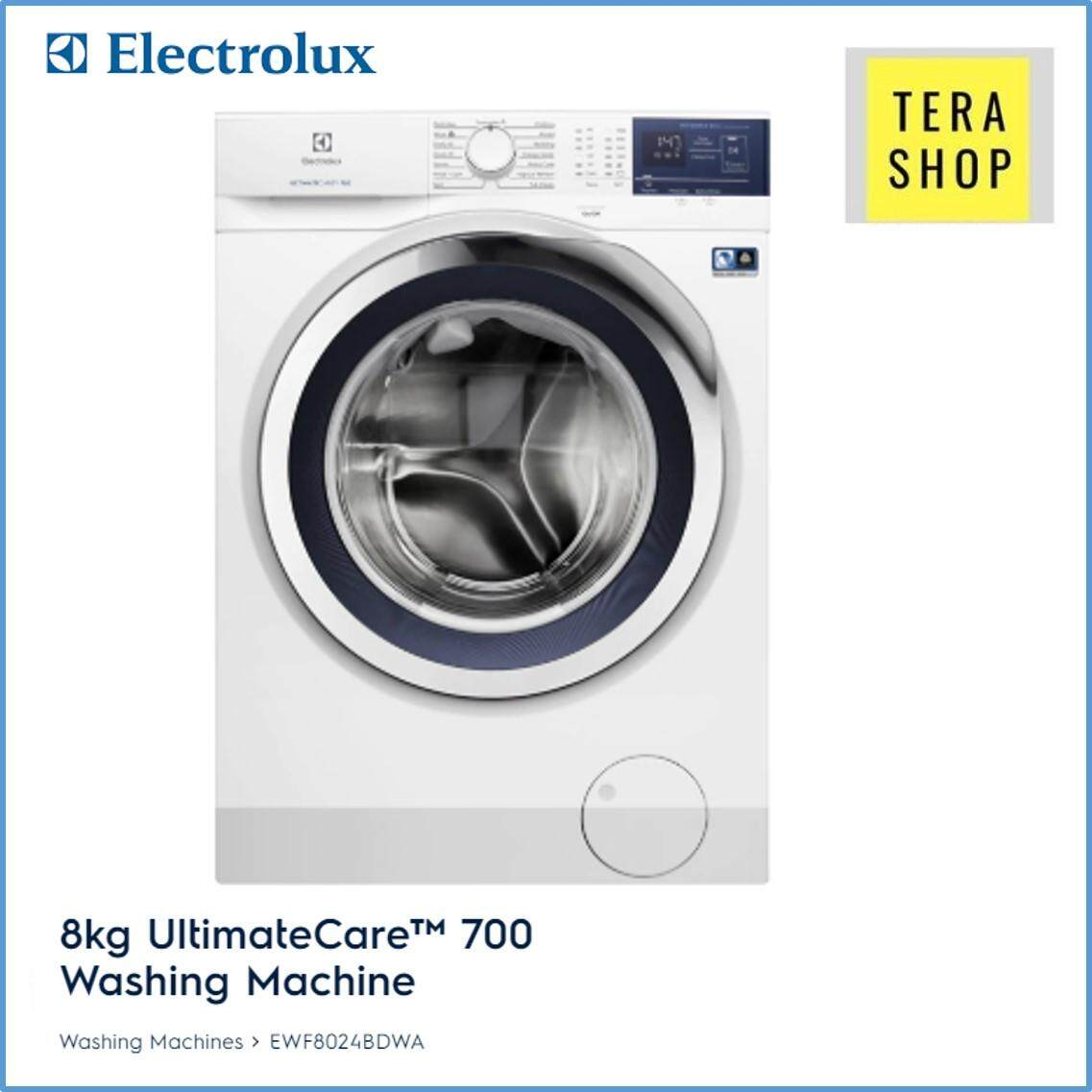 Electrolux Front Load Washing Machine 8KG EWF8024BDWA / EWF8024 ULTIMATECARE™ 800 WITH VAPOUR CARE