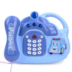 SEA&SUN Mô hình điện thoại bàn kiểu dáng dễ thương có chuyện kể trước khi ngủ cho bé – INTL