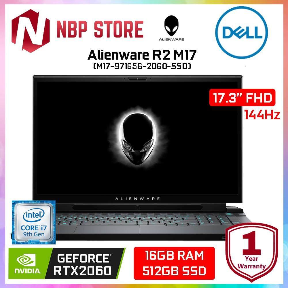 Dell Alienware R2 M17-971656-2060-SSD 17.3  FHD 144Hz Gaming Laptop Black ( i7-9750H, 16GB, 512GB, RTX2060 6GB, W10 ) Malaysia