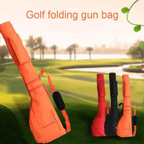 Không Thấm Nước Zip Pocket Phụ Kiện Bảo Vệ Có Thể Gập Lại Điều Chỉnh Strap Xách Tay Nylon Golf Club Bag