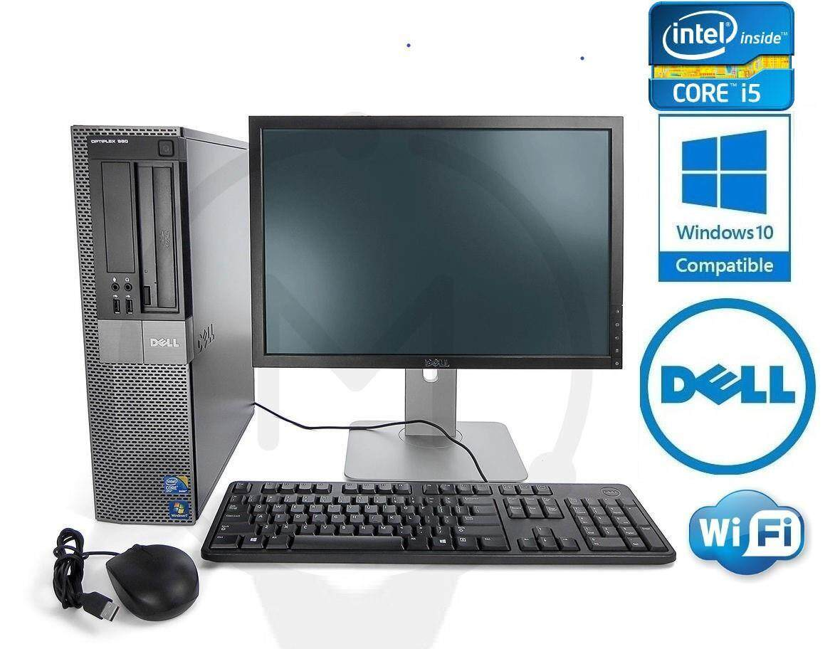 Full Set Pc Dell Optiplex 790 Intel Core i5 2nd Gen/Hdd500Gb/Ram4Gb/Lcd  Monitor 19