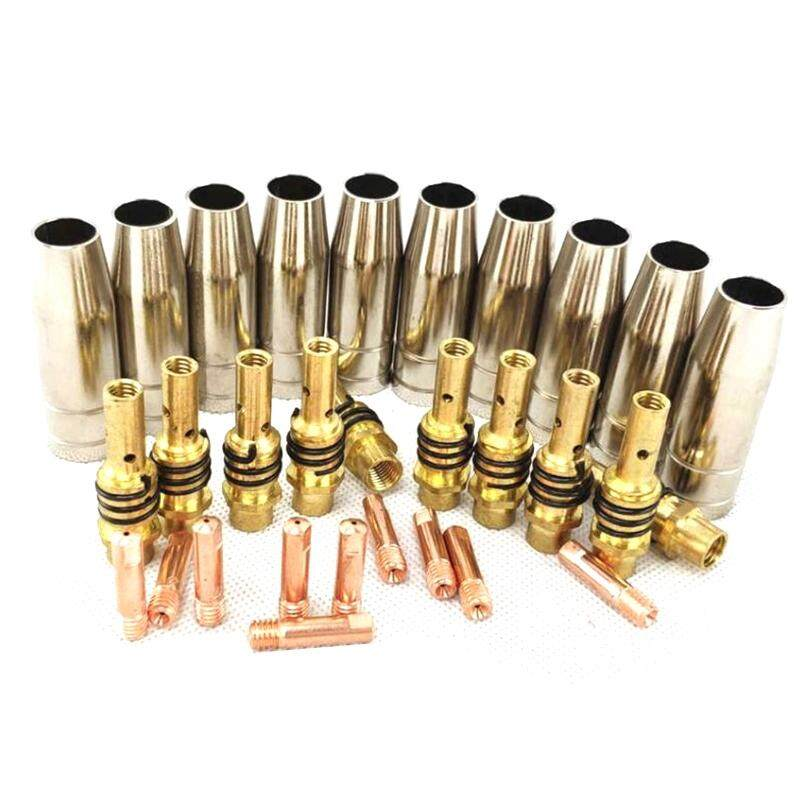 10pcs Gas Nozzle Replacement Parts for MB 15AK MIG Welding  Torch New