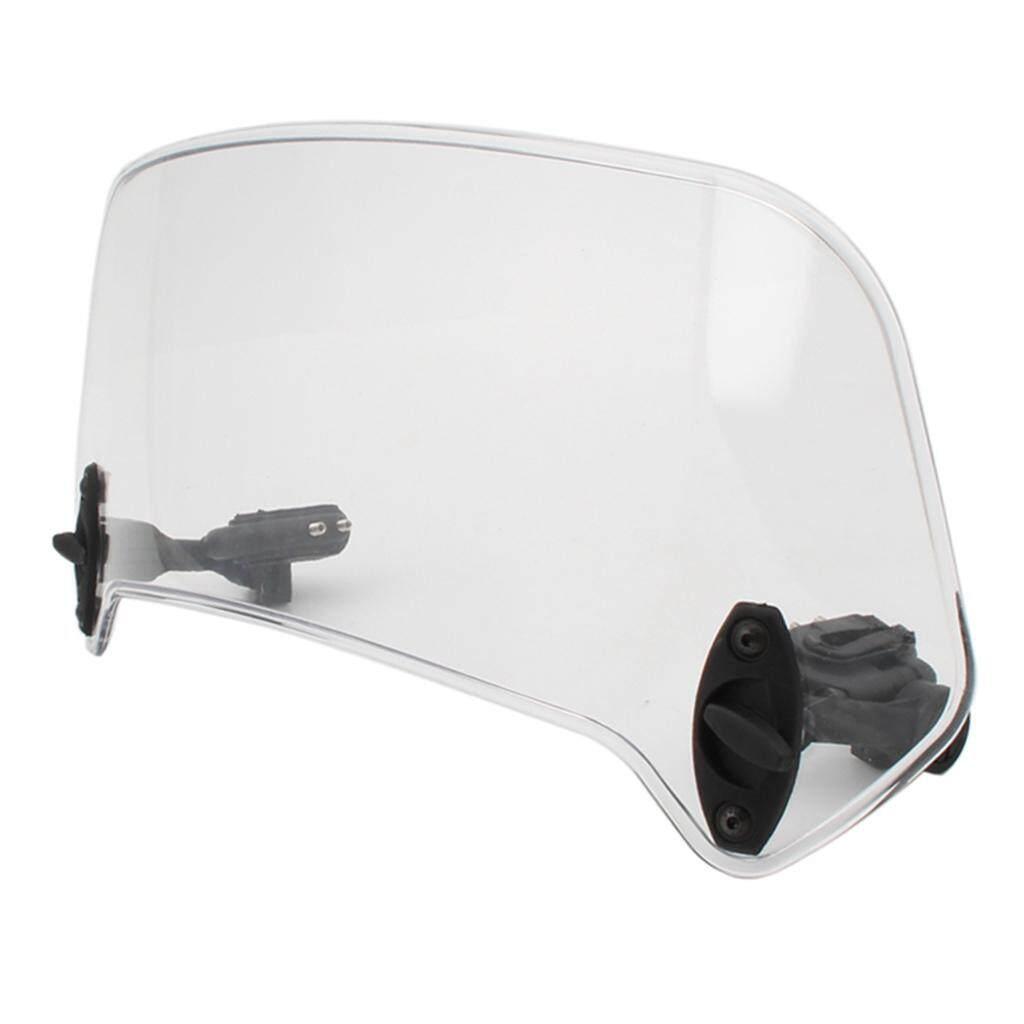Baoblaze 36cm Motorcycle Windshield Windscreen Extension Spoiler Wind Deflector.