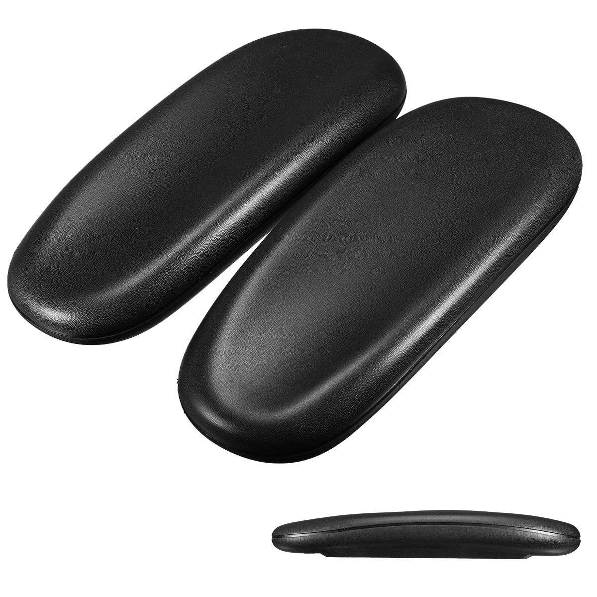 2 Pcs Office Task Chair Parts Elbow Armrest Arm Pad Cover Replacement Universal