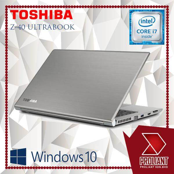 TOSHIBA TECRA Z40 ULTRABOOK CORE I7-5600U GEN/ 8GB RAM/ 128GB SSD/ WINDOW 10 GENUINE/ 1 YEARS WARRANTY Malaysia