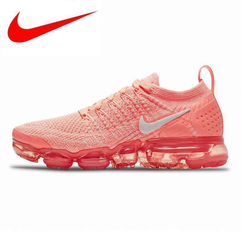 low priced bd914 b008f Nike Air Vapormax Flyknit 2.0 Women s Running Shoes, Lightweight Non-slip  Shock Absorbing Breathable