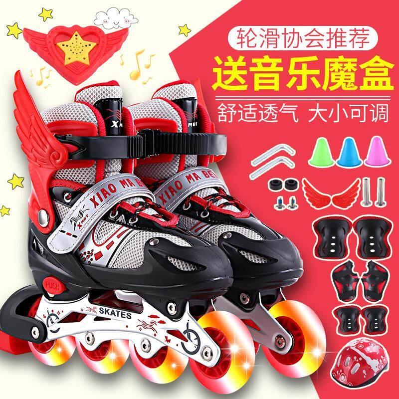 Mua Giày Trượt Băng Trẻ Em Trọn Bộ Nam Và Nữ Giày Trượt Pa-tanh Giày Trượt Patin Một Hàng Bánh Có Thể Điều Chỉnh 3-4-5-6-8-10 Tuổi Người Mới Bắt Đầu 389-6877