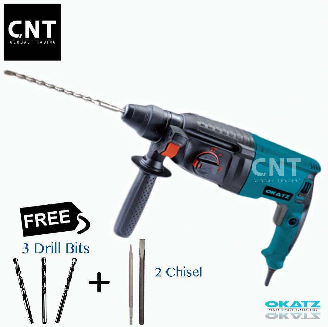 Okatz 3 In 1 Rotary Hammer Rh3.2685 By Cnt Global Trading.