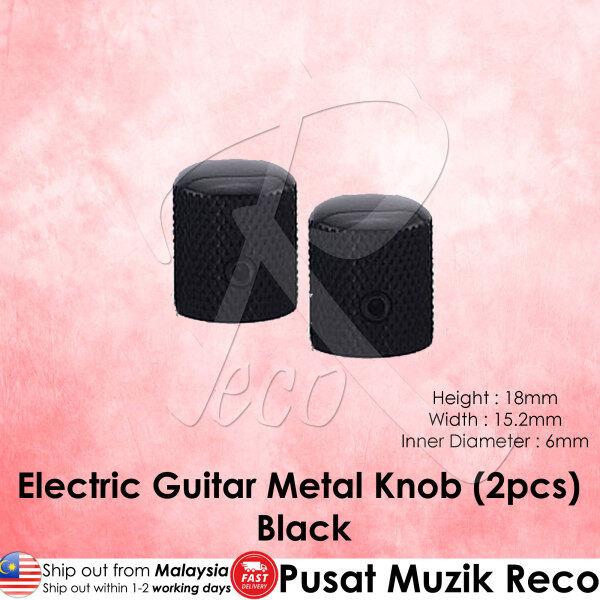 RM High Quality Electric Guitar Metal Knob Volume Tone Control Knob (Black, BK Nickel, Chrome)【Msia Seller READY STOCK】 Malaysia