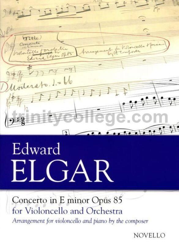 Cello Concerto in E Minor, Op.85 (Cello & Piano) Malaysia