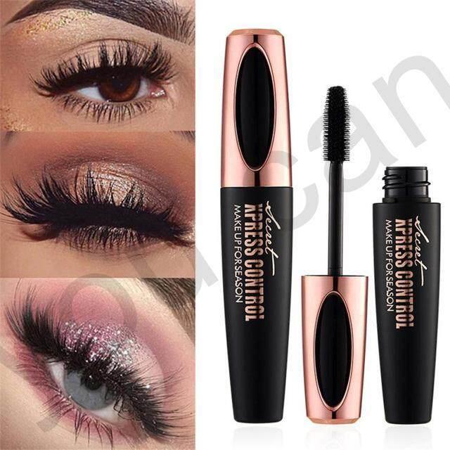 Macfee 4d Silk Fiber Eyelash Mascara Waterproof Long-Lasting Extension Makeup Kit Black By Joanne Shop.