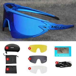 Màu Đỏ Kính, Phân Cực Kính Mát Đi Xe Đạp, Kính Đổi Màu Cho Xe Đạp Leo Núi Mtb Đường Trường Thể Thao Nam Nữ Kính Mặt Trời Oculos Ciclismo thumbnail