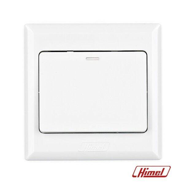Himel Advance Series 16A 1G1W OR 1G2W Flush Switch White Colour