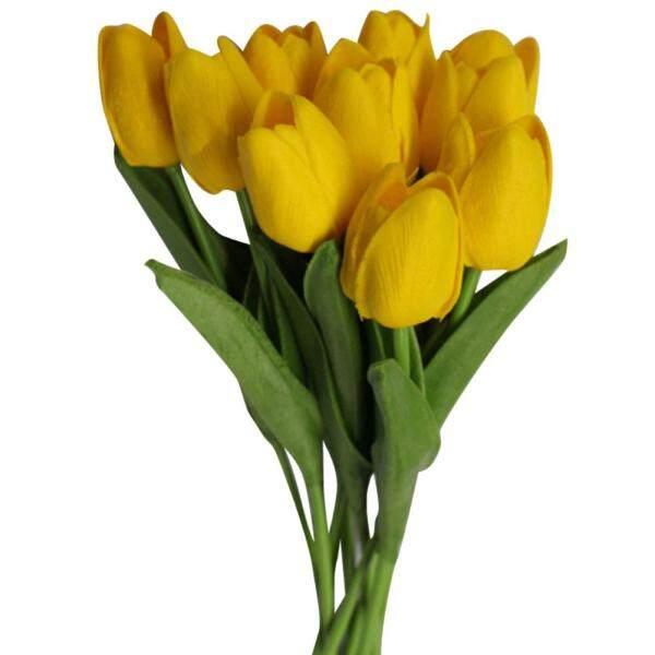 Sanwood®10 Cái/bộ Hoa Tulip Nhân Tạo, Trang Trí Tiệc Cưới Tại Nhà, Quà Tặng Bức Ảnh Prop
