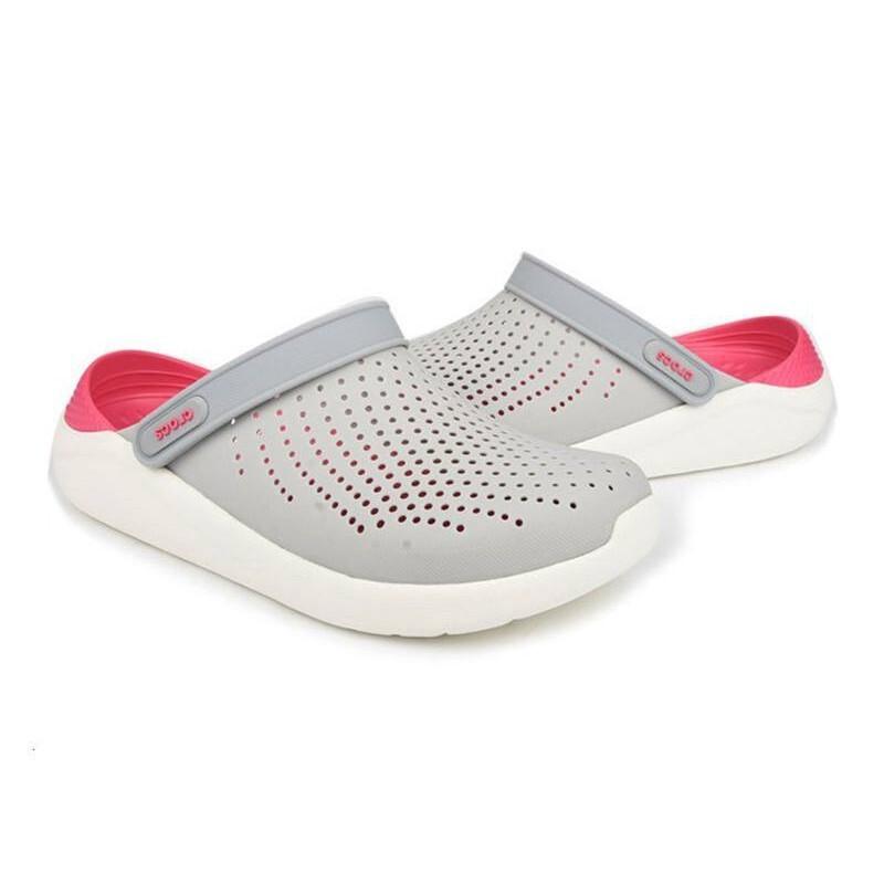 Giá bán Crocs_literide_clog Giày Thường Nhật Chính Hãng Thời Trang Giày Có Lỗ Thoải Mái Ngoài Trời Dép Nam Và Nữ Mùa Hè