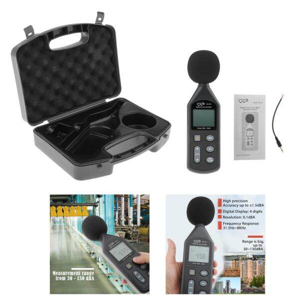 Wander Cloudly Noise Sound Level Meter 30-130db Digital Decibel Moniter Tester LCD Display with Backlight