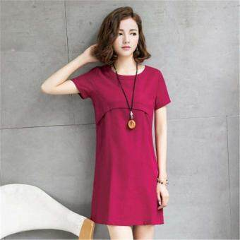 a46b0279a1b32 การส่งเสริม Summer Maternity nursing Dresses Breast Feeding Dresses for Pregnant  Women Pregnancy Breastfeeding Nursing Clothing ซื้อที่ไหน - มีเพียง ฿420.00