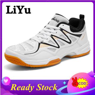 LiYu Giày Tennis Chất Lượng Cao, Giày Thể Thao Ngoài Trời Cỡ 38-48 Giày Tennis Cho Nam Và Nữ Giày Cao Su Giày Thể Thao Chống Mòn Chống Trượt Giày Cầu Lông Thoáng Khí thumbnail