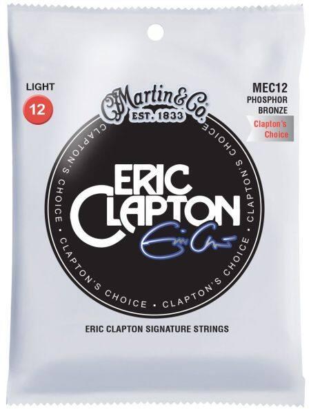 Martin MEC12 Eric Clapton Acoustic Guitar Strings Phosphor, 012-054 Malaysia