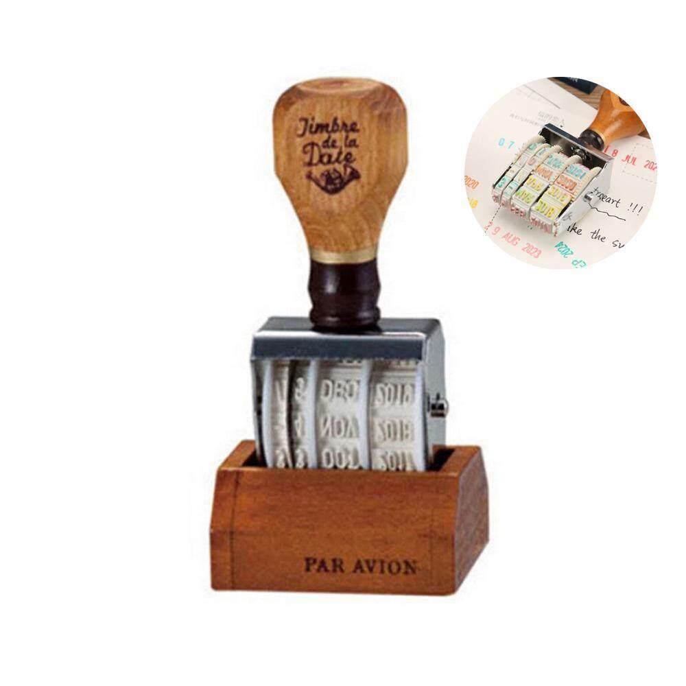 Vankel Rolling Stamp,Vankel Date Stamp Self Inking,Vintage Month Year Date Numerals Rolling
