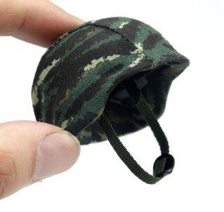 Mũ Bảo Hiểm Chiến Đấu 1 6, Mũ Bảo Hiểm Đua Xe Mô Hình Hành Động 12 Inch, Phụ Kiện Cảnh Quan Cho Búp Bê thumbnail