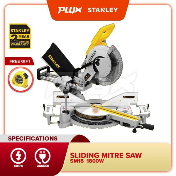 STANLEY SM18 1800W Sliding Mitre Saw 10 ( 254mm )