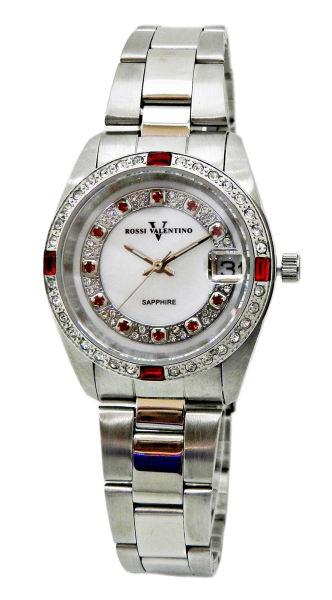 ROSSI VALENTINO Ladies Sapphire Date Watch 004MN-SS-19 Malaysia