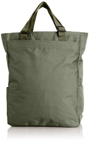 [Agent Oh tea] tote bag armed with adjustable A4 corresponding plain 3974 Khaki