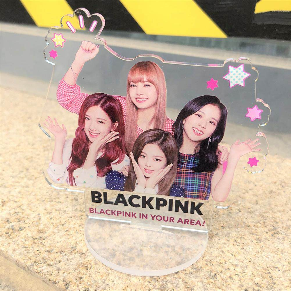 KPOP Beautiful Acrylic Stand School Desk Decoration LISA ROSE Fans Gift
