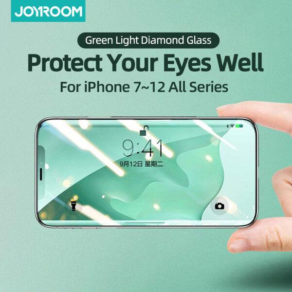 Bảo Vệ Mắt Joyroom Kính Cường Lực Bảo Vệ Màn Hình Cho IPhone 12 Max/Pro 2.5D Màn Hình Xanh Kính Cường Lực
