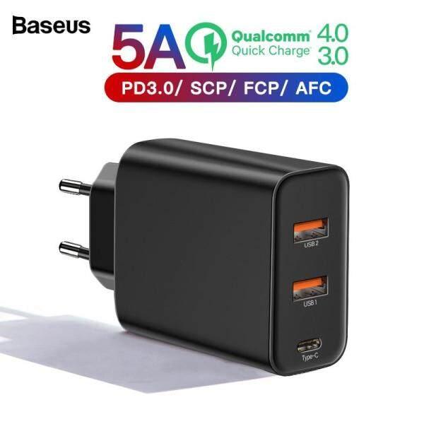 Baseus Sạc nhanh 4.0 3.0 Bộ sạc USB đa năng cho iPhone Xiaomi Samsung Huawei SCP QC4.0 QC3.0 QC C PD Sạc điện thoại di động nhanh