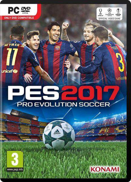 Pes 2017 - Offline Pc Game With Dvd By Nadhi Imani Enterprise.
