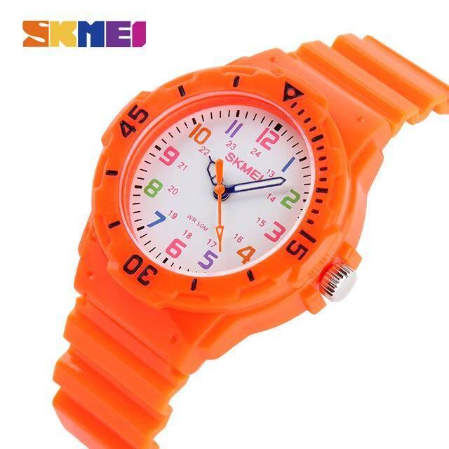 Skmei แฟชั่น Casual นาฬิกาข้อมือเด็ก 5bar กันน้ำควอตซ์นาฬิกาข้อมือ Jelly นาฬิกาสำหรับเด็กนาฬิกาข้อมือเด็ก Montre Enfant 1043 By Shang Hai Shuai Mall.