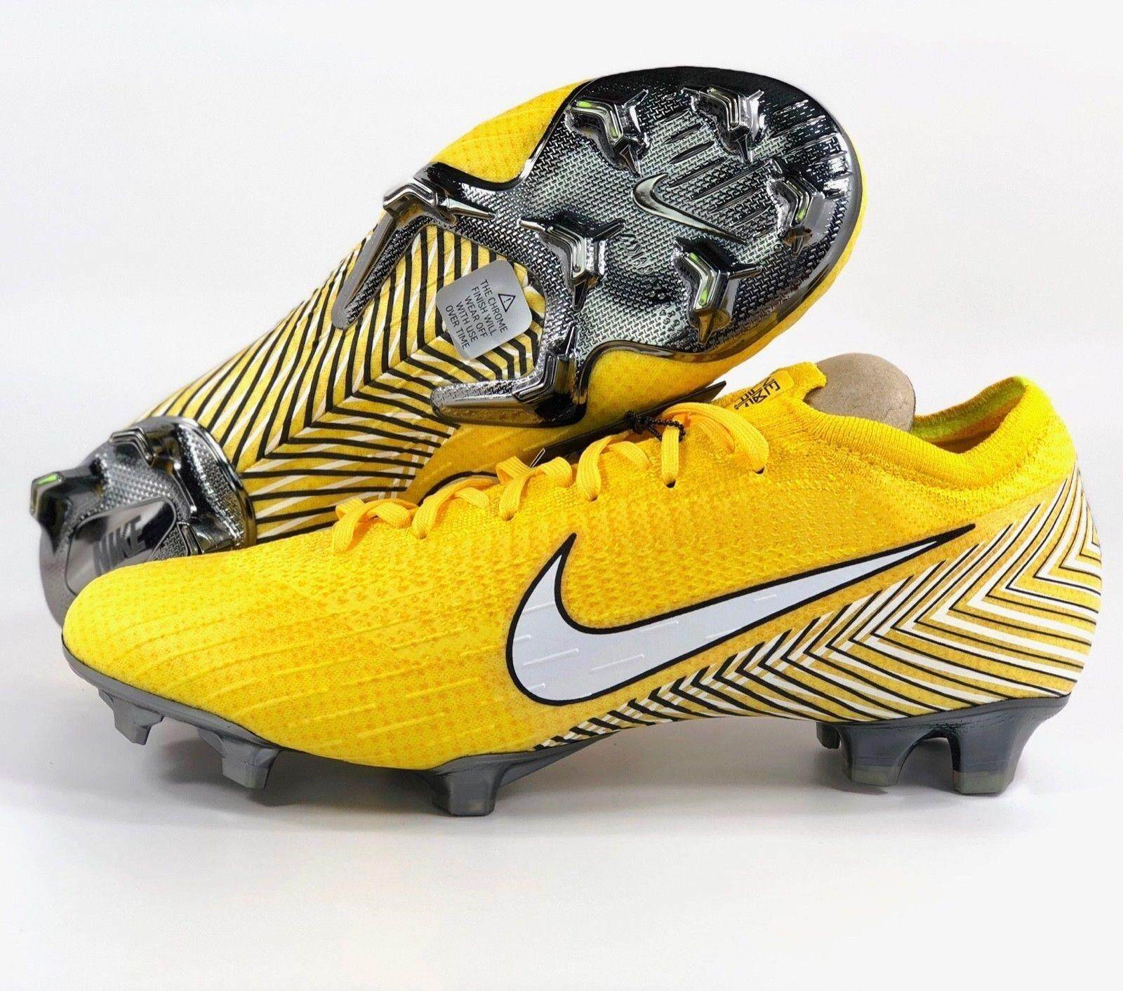 8cd9aed44df Malaysia. NIKE Mercurial Vapor XII Neymar Elite NJR Yellow FG Soccer Cleat