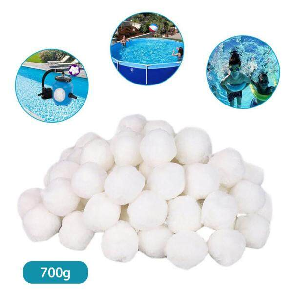 [BXH SHOP] 700g swimming pool cleaning equipment special fine filter fiber ball filter light high strength durable swimming pool cleaning