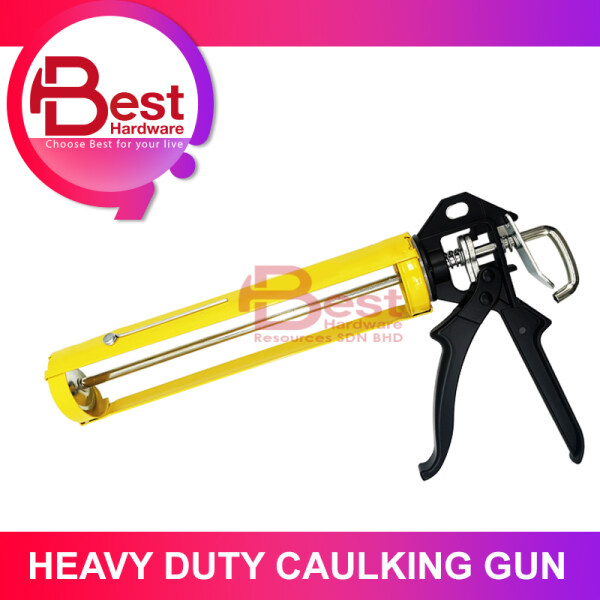 BEST HARDWARE - 11 inch heavy medium Silicone Caulking Gun For Pressing Inject Silicone Sealant