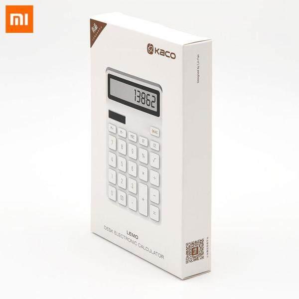 Mua Xiaomi Youpin LEMO Máy tính để bàn sử dụng quang điện kép 12 phím tự động tắt khi không sử dụng phù hợp dùng cho doanh nghiệp tài chính văn phòng - INTL - Hàng quốc tế | Lưu ý thời gian giao hàng dự kiến