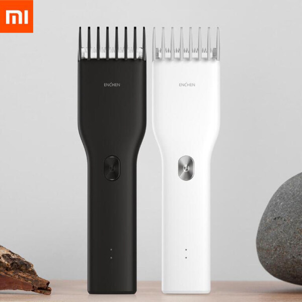 Buy in Stock Xiaomi Enchen Boost USB Electric Hair Clipper Two Speed Ceramic Cutter Hair Fast Charging Hair Trimmer Children Singapore