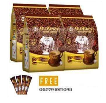 OLD TOWN White Coffee 3 in 1 Instant Premix White Coffee Classic BUY 4 packets FREE