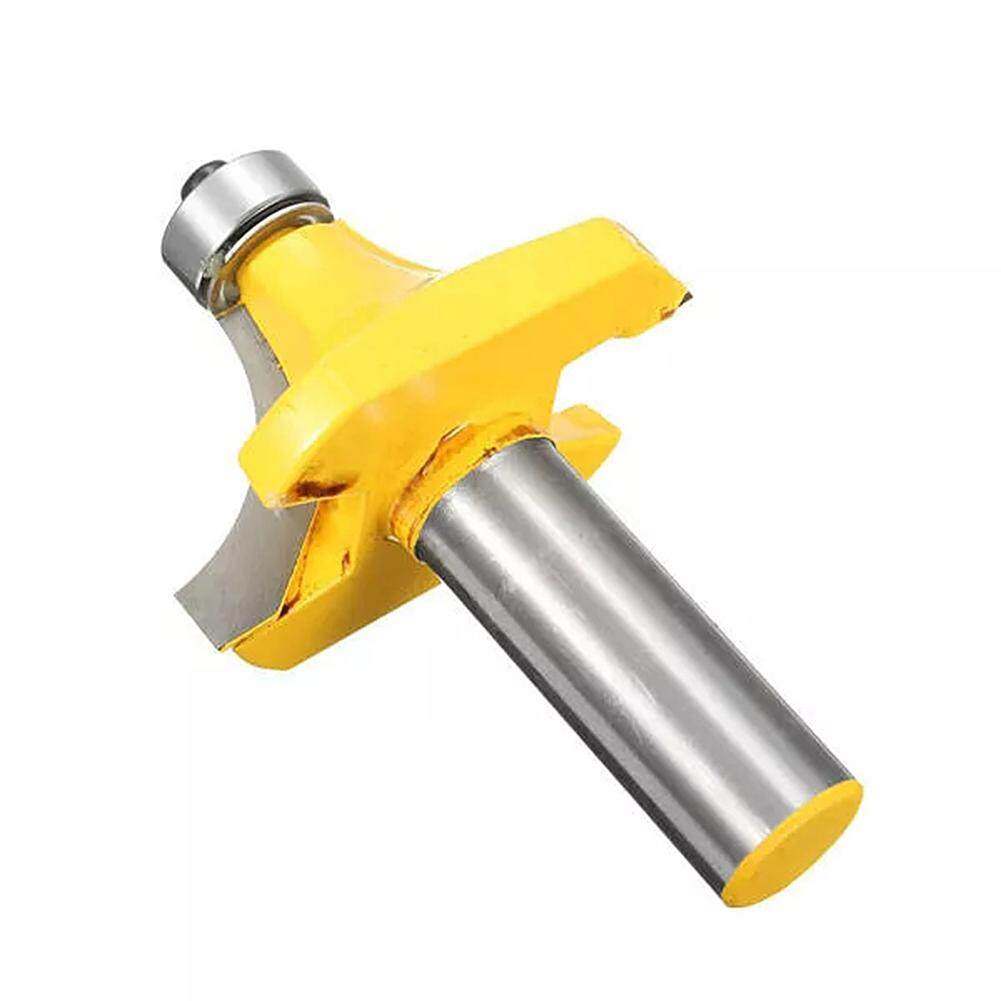 2pcs 1//2inch Round Over Edge Forming Router Bit 1//4inch Shank