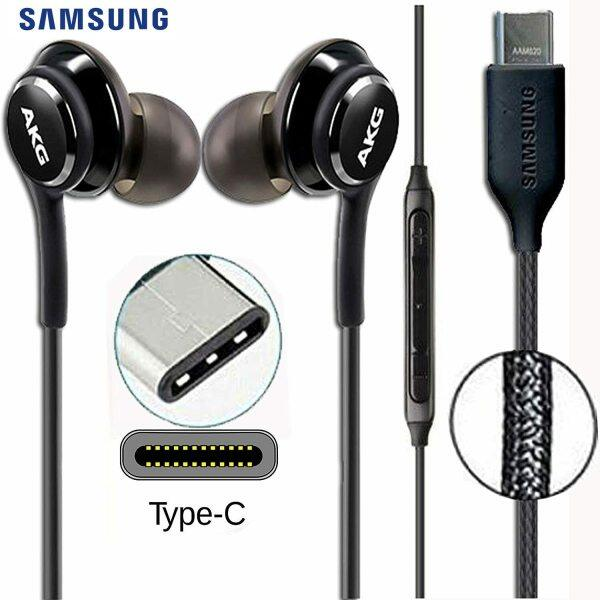 Original SAMSUNG AKG Earphones EO-IG955 Headset In-ear Type-c with Mic Wired for GALAXY NOTE 10 /20 S20 S21 S10 PLUS AKG Headset Singapore