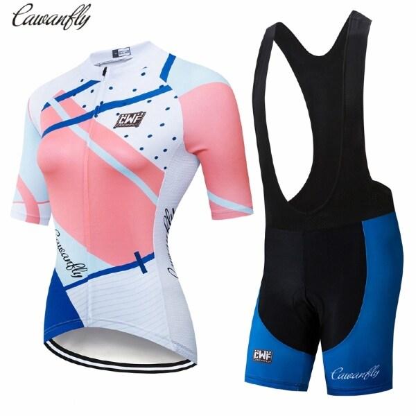2021 NEW CAWANFLY Leo Núi Cho Nữ Quần Áo Đi Xe Đạp DH Áo Jersey Lái Xe Môtô Chống UV Áo Quần Đi Xe Đạp Ciclismo