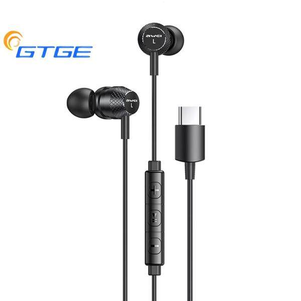 Professional Wired In Ear Earbuds USB Type C Plug HiFi Bass Sound Headset with Mic Singapore