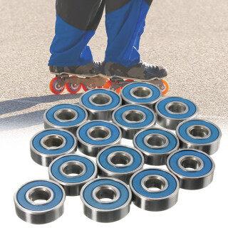 20 Chiếc ABEC-9 608rs Ván Trượt Ma Sát Ít Bền, Longboard Con Lăn Skate Bánh Xe Xe Tay Ga Phụ Tùng Vòng Bi Skate Vòng Bi Bánh Xe thumbnail