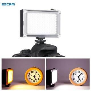 ESCAM ULANZI Đèn LED Video 96, Đèn Chụp Ảnh Nhiệt Độ Hai Màu Có Thể Điều Chỉnh Độ Sáng Dành Cho Youtube, Phát Trực Tiếp thumbnail